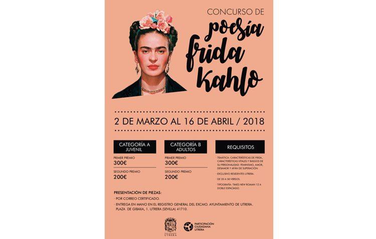 El Ayuntamiento organiza un concurso de poesía sobre Frida Khalo