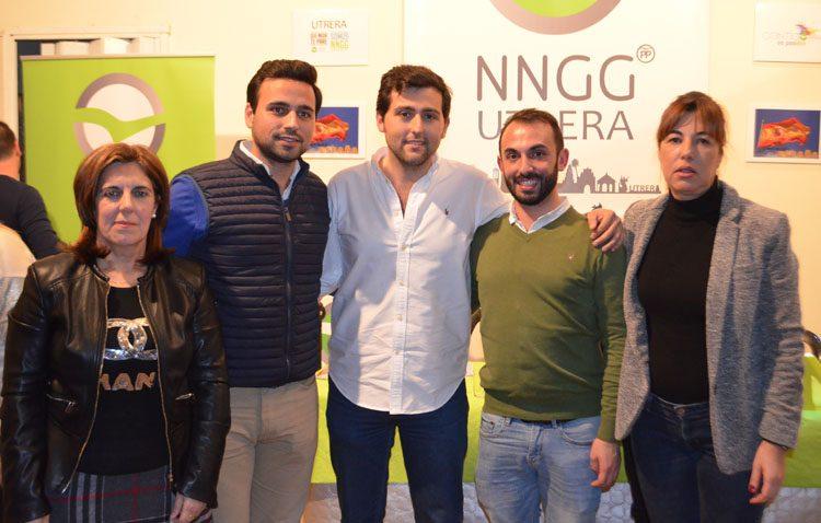 El PP-Utrera elige a Diego Javier García como presidente de Nuevas Generaciones