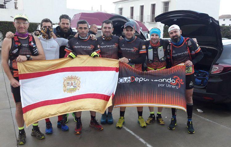 El Club Deporteando por Utrera, presente en tres importantes carreras