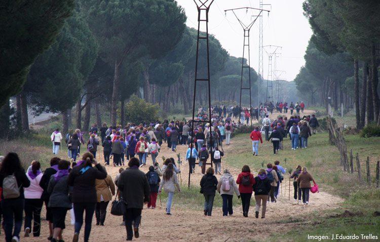 La hermandad del Rocío vuelve a aplazar su camino de mujeres ante la previsión de lluvia
