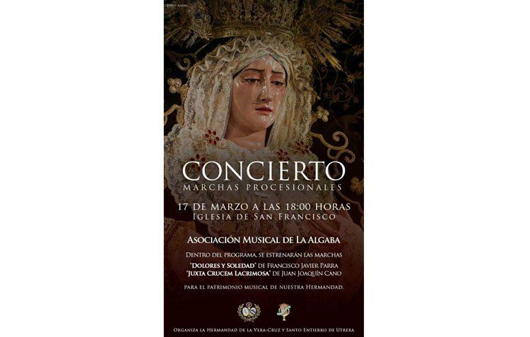 Un concierto en la iglesia de San Francisco para presentar dos nuevas marchas dedicadas a la Virgen de los Dolores
