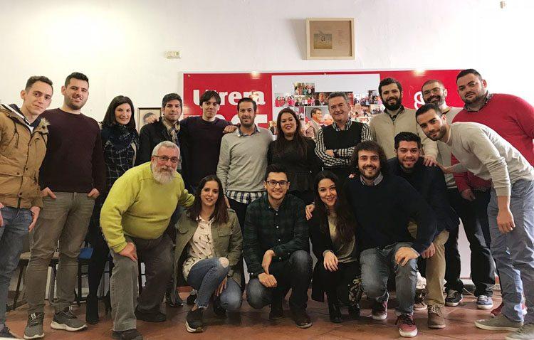 Las Juventudes Socialistas constituyen su nueva comisión ejecutiva y eligen a Daniel Liria como secretario general