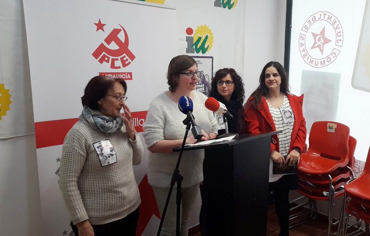 El Partido Comunista critica que el gobierno local anime a hacer huelga el Día de la Mujer «mientras ellos trabajan»