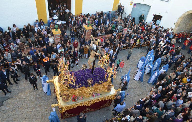 Una banda de cornetas y tambores murciana acompañará al Cristo de los Afligidos