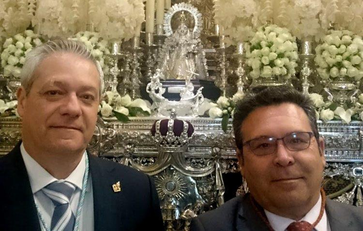 La patrona de Utrera, presente un año más en la Semana Santa de Sevilla