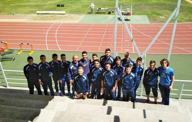 El Club Utrerano de Atletismo, en el «top ten» del campeonato de Andalucía sub 20