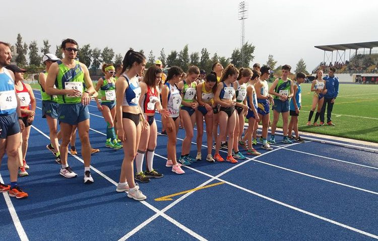 María Rodríguez González se proclama campeona de Andalucía de atletismo