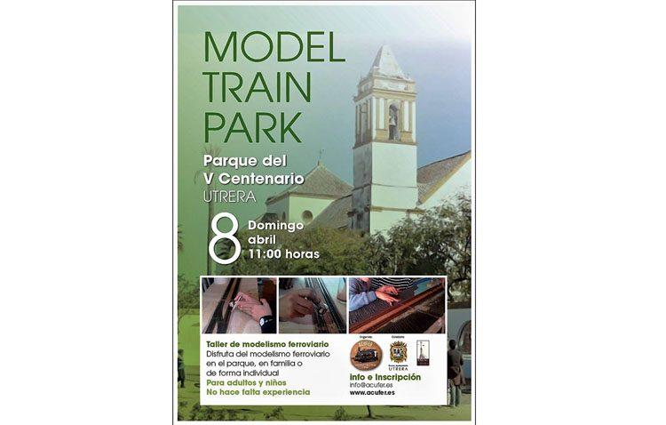 Taller de modelismo ferroviario para adultos y niños organizado por Acufer