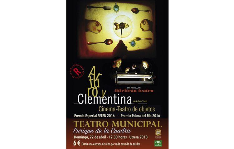 Teatro para toda la familia en Utrera con «Arturo y Clementina»
