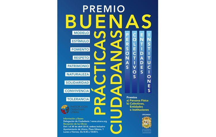 Utrera premia las buenas prácticas de personas, entidades, colectivos e instituciones de la ciudad