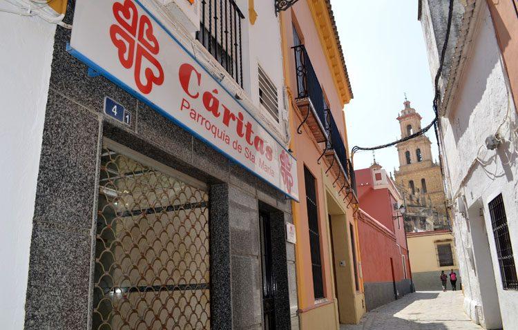Roban el dinero de Cáritas de Santa María destinado a comprar alimentos y artículos para los más necesitados