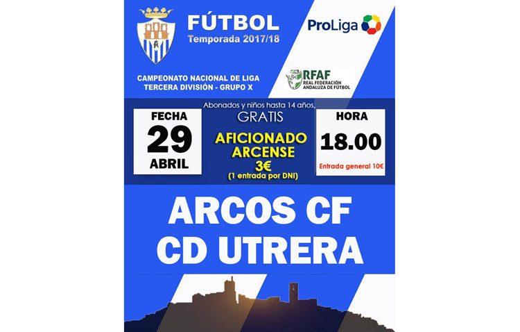 ARCOS C.F. – C.D.UTRERA: El reto de ganar a domicilio y la tranquilidad de puntuar
