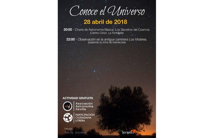 Participación Ciudadana organiza una jornada astronómica en Utrera