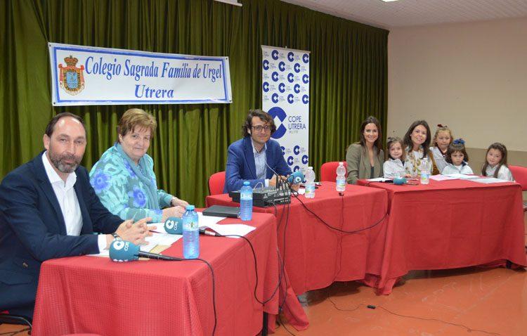 Las jornadas sobre la comunicación protagonizan un programa especial de COPE Utrera desde el colegio Sagrada Familia (IMÁGENES Y AUDIO)