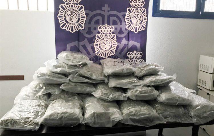 Incautados 30 kilos de marihuana ocultos en un depósito de agua por un grupo de polacos asentados en El Palmar de Troya