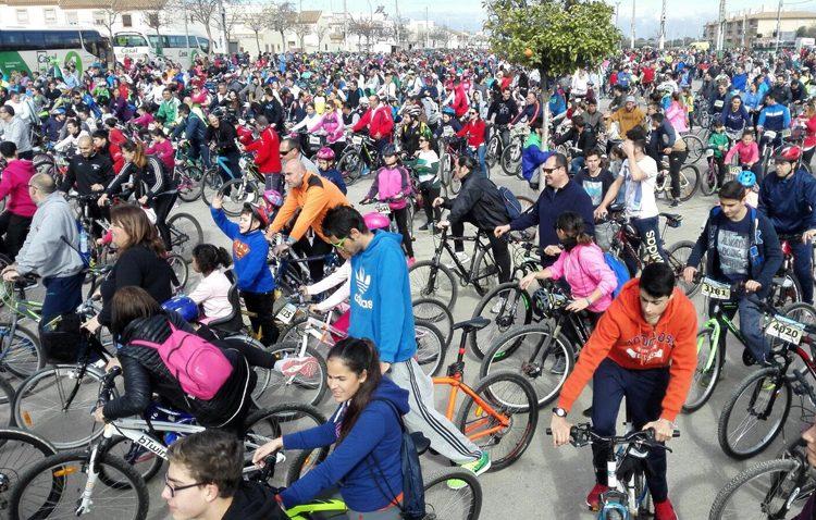 El paseo en bicicleta que se suspendió el Día de Andalucía se celebrará el 15 de abril