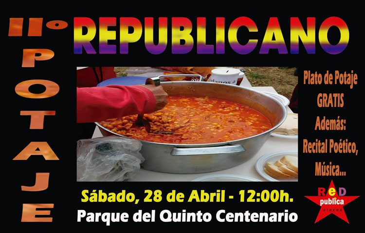 El foro «Construyendo RedPública» organiza un «potaje republicano»