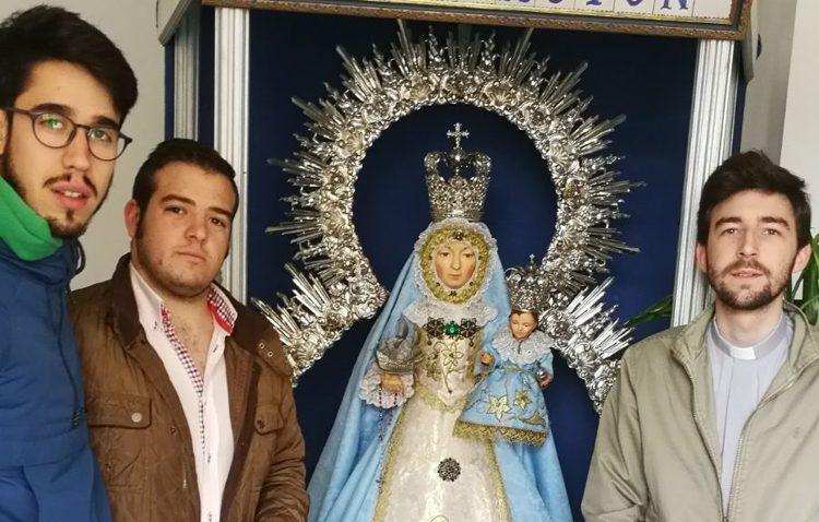 La Virgen de Consolación catalana emprende su viaje de regreso a Utrera