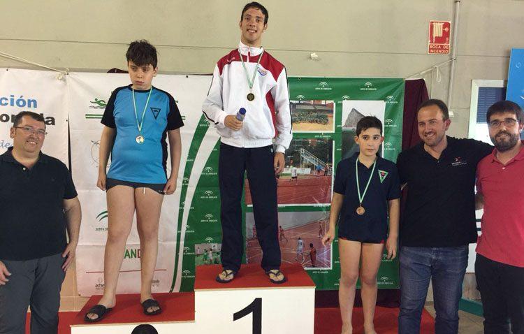 La natación adaptada consigue un total de nueve medallas en el Campeonato de Andalucía