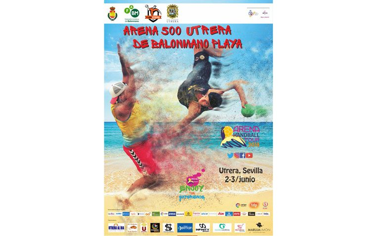 El «Arena 500» de balonmano playa llega a Utrera
