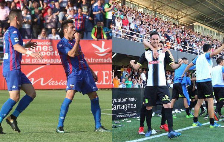 Dos utreranos, protagonistas con sus goles en el inicio de los play off a Segunda División