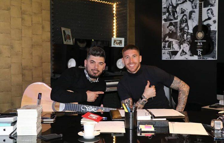 Demarco y Sergio Ramos, juntos en un proyecto musical