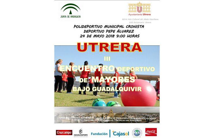 Utrera acoge el encuentro deportivo de mayores del Bajo Guadalquivir