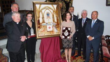 La presentación del cartel y la entrega de las pastas a la exaltadora, antesala de los actos del «Junio eucarístico»