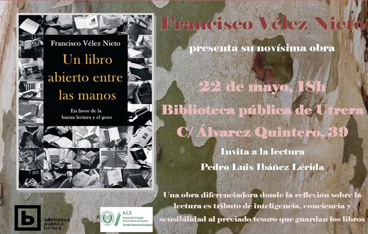 Presentación de «Un libro abierto entre las manos» en la biblioteca municipal