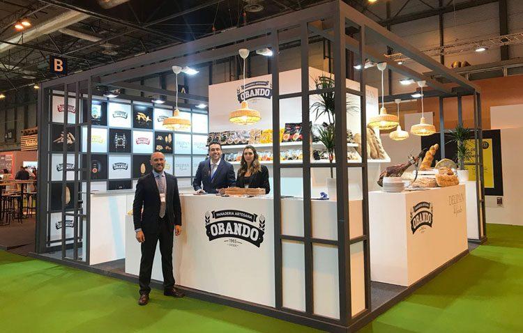 La empresa utrerana Panadería Obando, en el Salón de Gourmets de Madrid