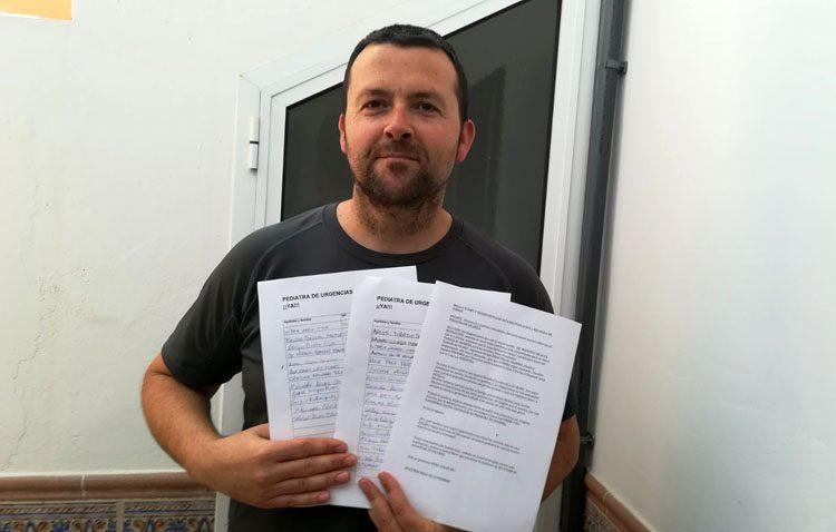 Una campaña de firmas revoluciona Utrera reclamando a la Junta un pediatra de guardia en el CHAR