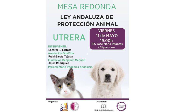 Podemos organiza en Utrera una mesa redonda sobre la ley andaluza de protección animal