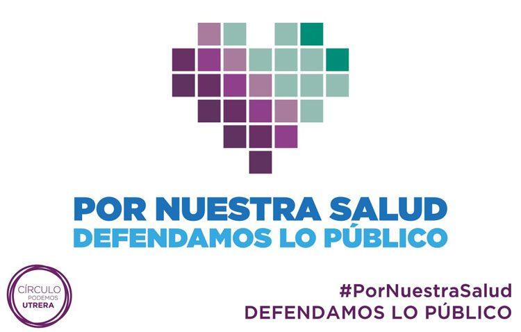 Podemos inicia en Utrera una campaña en defensa de la sanidad pública