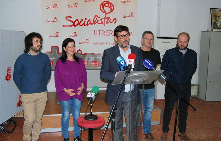 José María Villalobos repetirá como candidato del PSOE a las elecciones municipales de Utrera en 2019