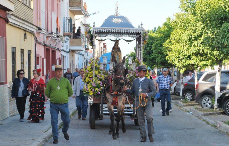 Encuentro romero con la Virgen de Fátima en Vistalegre (GALERÍA)