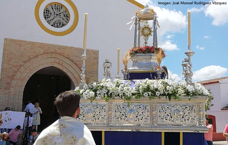 Trajano se vuelca con la solemnidad del Corpus Christi