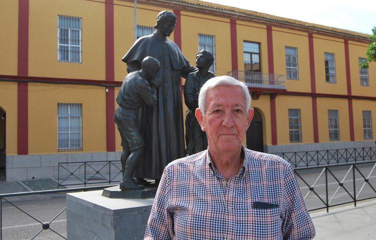 Antonio García Ylla, histórico hermano mayor de Los Estudiantes y uno de los impulsores de la cabalgata de los Reyes Magos de Utrera