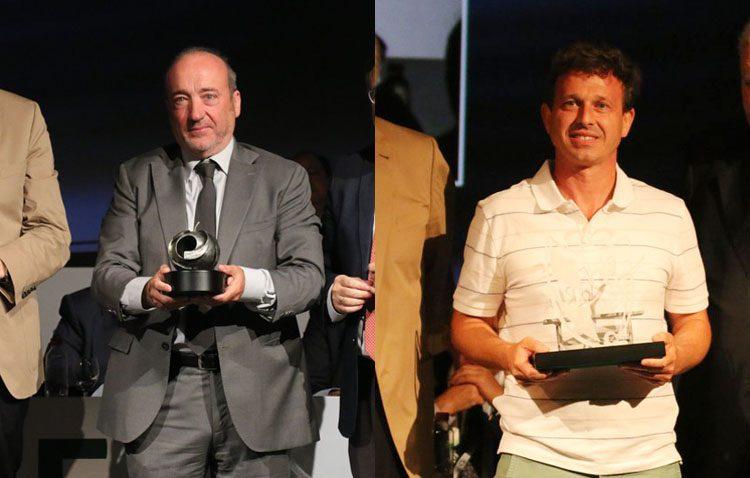 La Federación Andaluza de Fútbol premia a los utreranos Joaquín Caparrós y José Manuel Aranda