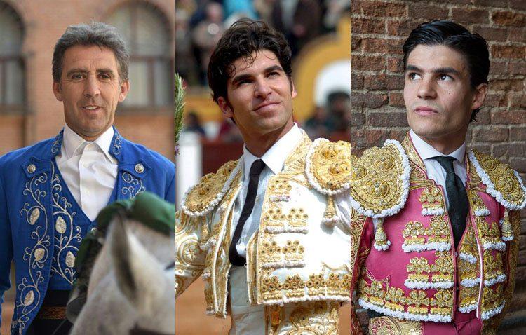 Pablo Hermoso de Mendoza, Cayetano Rivera y Pablo Aguado, protagonistas del principal evento taurino de la feria de Utrera