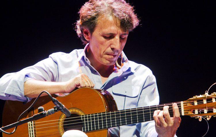 El guitarrista Juan Carlos Romero, protagonista de la segunda cita con «Noches de julio»