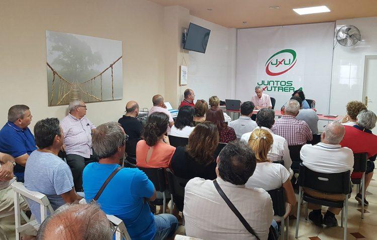 El nuevo partido «Juntos por Utrera» comienza a dar sus primeros pasos entre la «buena acogida» de la población