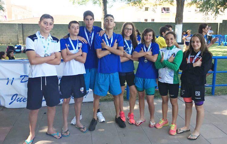 Buena posición para el Club Natación Utrera en el «XXXIII Campeonato de Andalucía Alevín de verano»