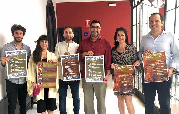 El patio de la Casa de la Cultura y la plaza de Gibaxa, escenarios de las propuestas musicales en Utrera para julio y agosto