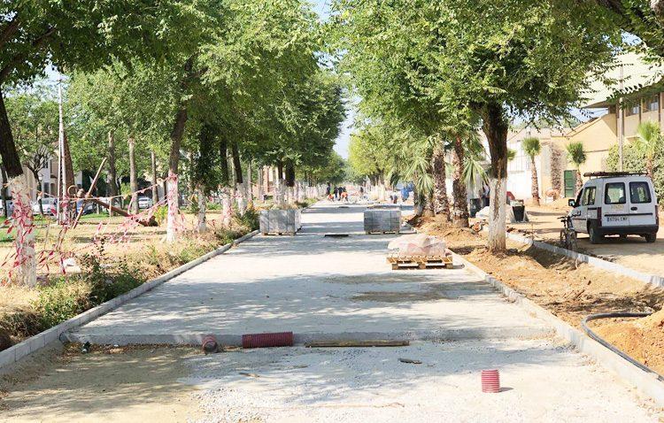La renovación de una tubería de agua en el paseo de Consolación «pondrá fin a las incidencias de los últimos años»