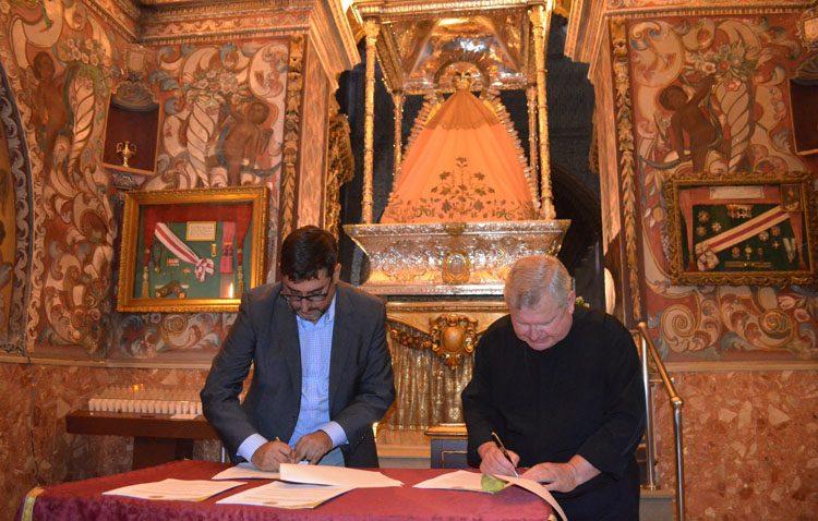 Los trabajos para la restauración del retablo de Consolación comenzarán «después de la feria»
