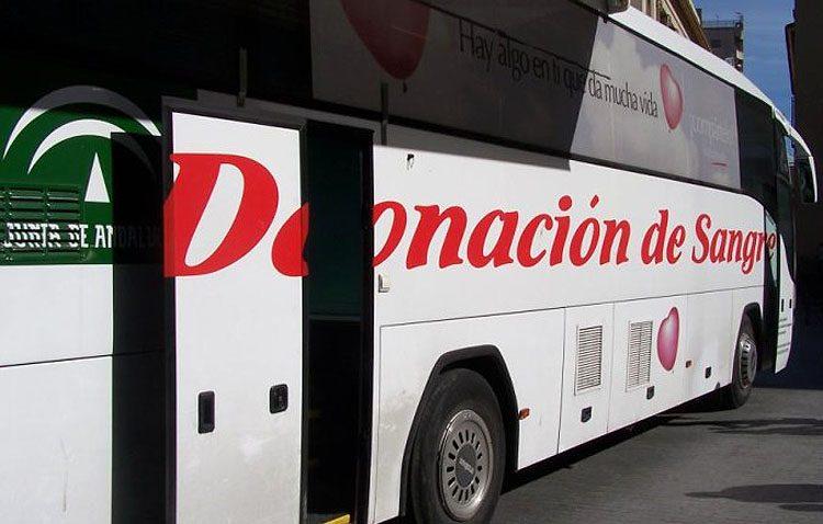 El autobús de donaciones de sangre vuelve el día 6 a la plaza del Altozano
