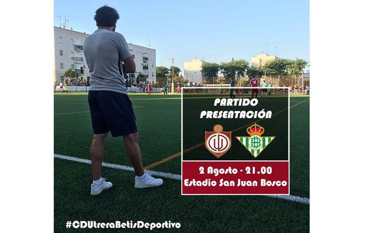 El CD Utrera recibe en casa al Betis Deportivo en su segundo partido de la pretemporada