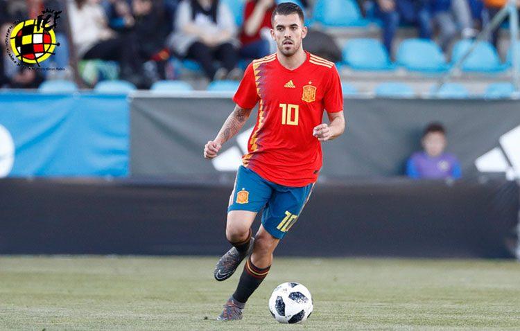 El utrerano Dani Ceballos, convocado por primera vez por la selección española de fútbol absoluta