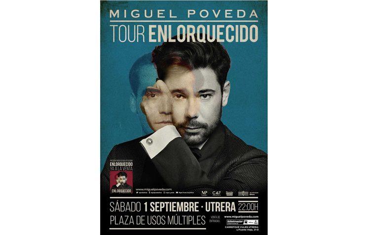 El plato fuerte de la preferia de Utrera llega este sábado con Miguel Poveda y su espectáculo «Enlorquecido»