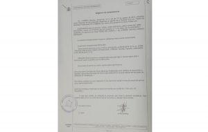 La denuncia presentada por el PA ante la Guardia Civil